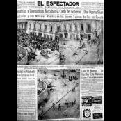La plaza de Rojas Pinilla y sus muertos